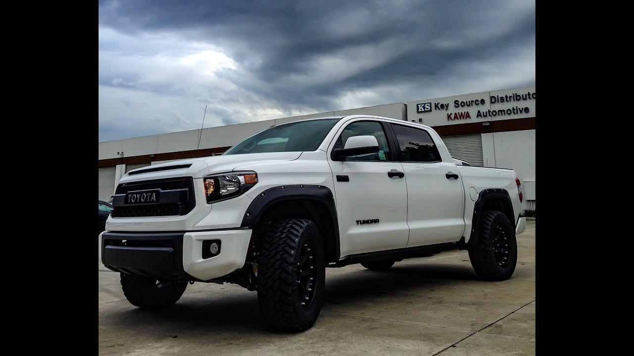 2015 Toyota Tundra Trd Pro Crewmax Supercharged 4x4 Reving