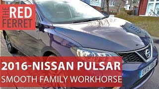 2016 Nissan Pulsar - lovely smooth, quiet family workhorse [Review]