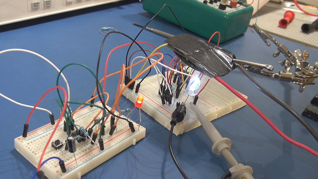 Tutorial 555 Timer Pwm Led Driver And Latched Switch Pt1 Youtube With