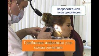 Грибковая инфекция уха: схема лечения, которая приводит к выздоровлению