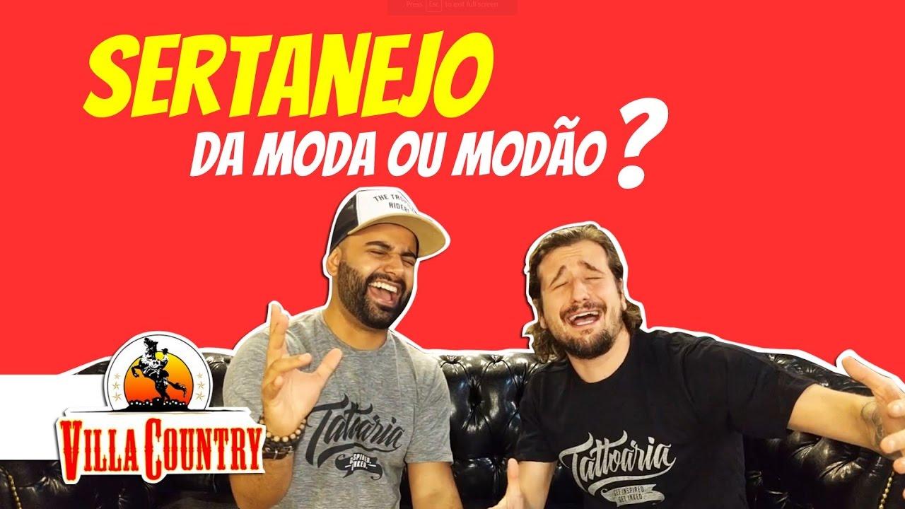 dec4d3479 Villa Country - Sertanejo da Moda ou Modão de Viola? - Partiu Balada ...