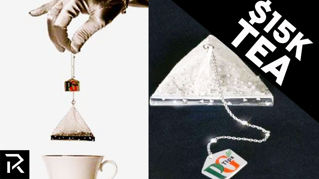 Only The Super Rich Can Afford This Diamond Tea Bag