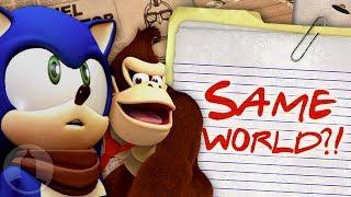 Sind Sonic Boom Und DK Land Im Gleichen Universum? - Comic-Verschwörung (Ep205) | ChannelFrederator