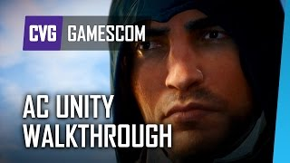Assassin's Creed Unity Gameplay Walkthrough | Gamescom 2014