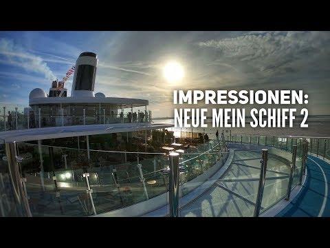 Impressionen von der Neuen Mein Schiff 2 - Tui Cruises