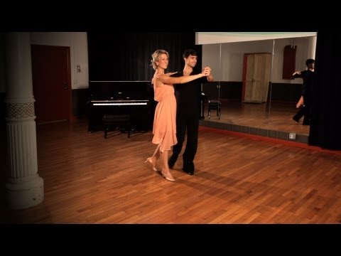 How to Do a Foxtrot Promenade Step | Ballroom Dance