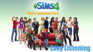 The Sims 4 Music Expansion Pack #1: Easy Listening (ONE HOUR Music Instrumental Playlist)