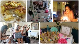 Erin's Bridal Shower & My Birthday!   July 18-26, 2016