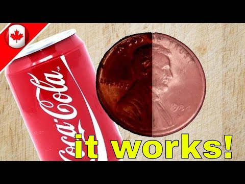 How To Clean Coins With Coke | EASY!