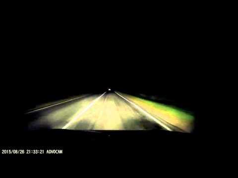 Ночной нежданчик во Владимирской области по дороге в г. Камешково