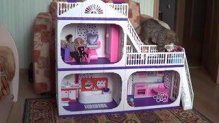 Будиночок для ляльок Вогник огляд + іграшки для будиночка