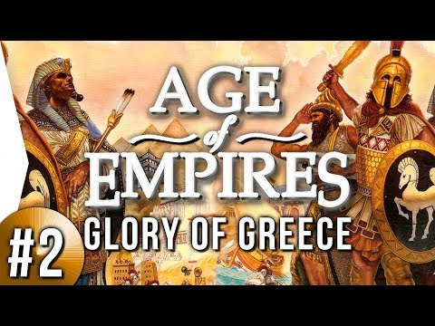 Age of Empires 1 HD ► Glory of Greece #2 - Citadel!