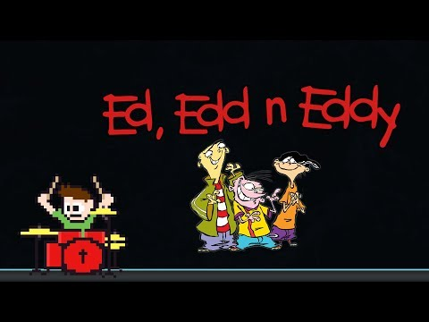Ed, Edd n Eddy Theme Song (Drum Cover) -- The8BitDrummer