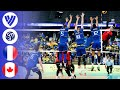 France Vs. Canada - Full Match | Semi Final | Men's Volleyball World League 2017
