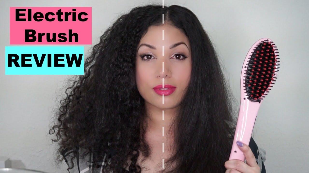 Electric Straightening Brush Youtube