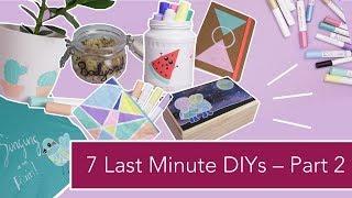 7 Last Minute DIY Geschenkideen – Teil 2 | Verlosung