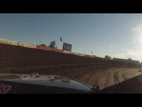 Beatrice Speedway, Stock Car Heat Race, 6-30-17, 25B