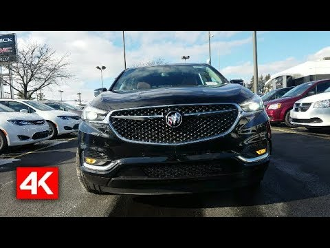 THE 2018 BUICK ENCLAVE AVENIR - INTERIOR HIGHLIGHTS