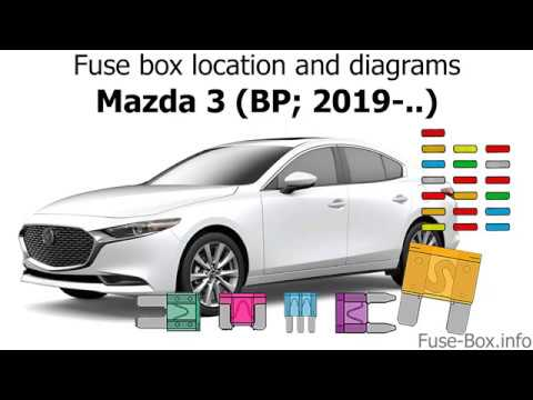 [QMVU_8575]  Fuse box location and diagrams: Mazda 3 (BP; 2019-..) - YouTube | 2015 Mazda 3 Fuse Diagram |  | YouTube