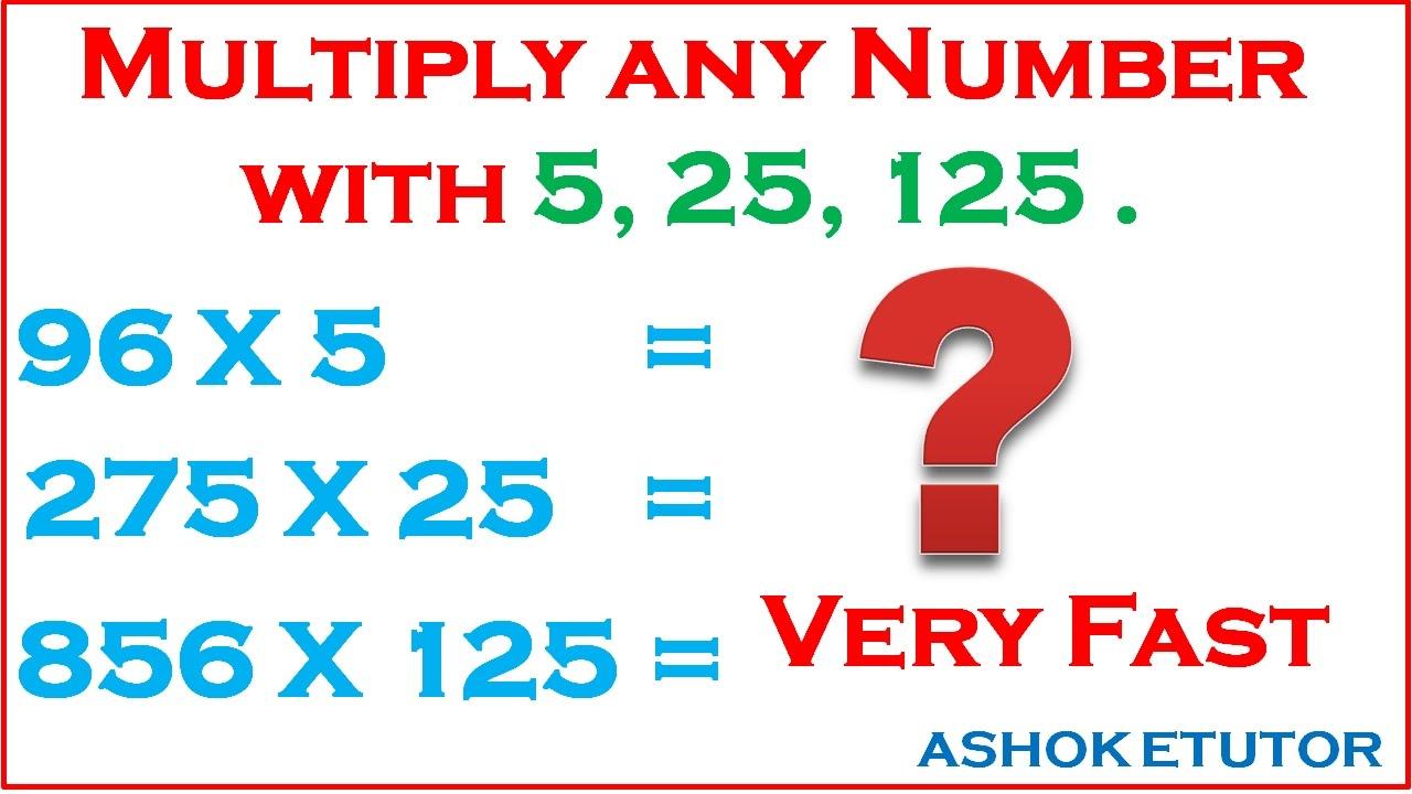 Fast Math Sign