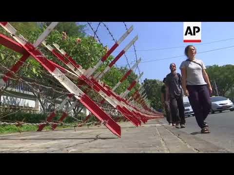 Petrol bomb thrown at Suu Kyi's Myanmar home