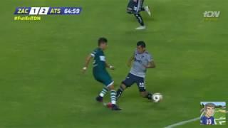 ZACATEPEC VS ATLAS 3-2    GOLES    ATLAS ELIMINADO!!! Copa MX J-6  13/09/18