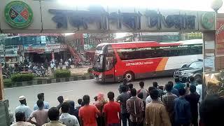 Australian players travel to shyamoli hundai buses
