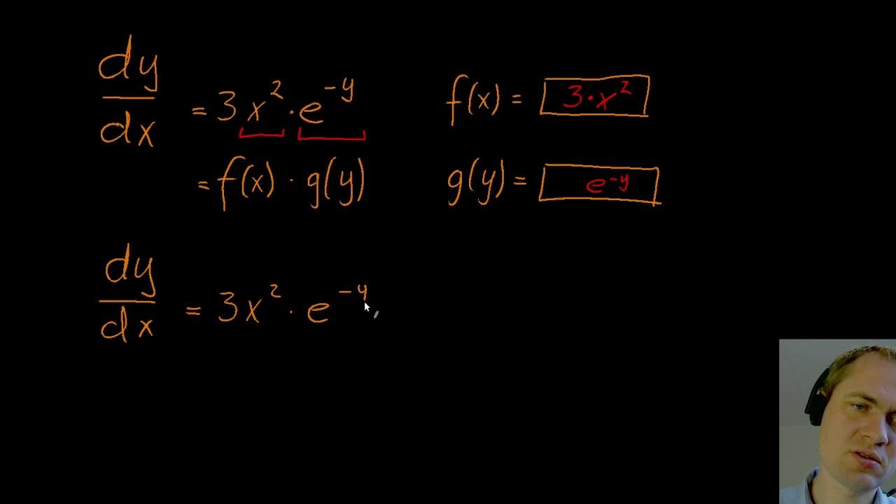 Separable differentialligninger