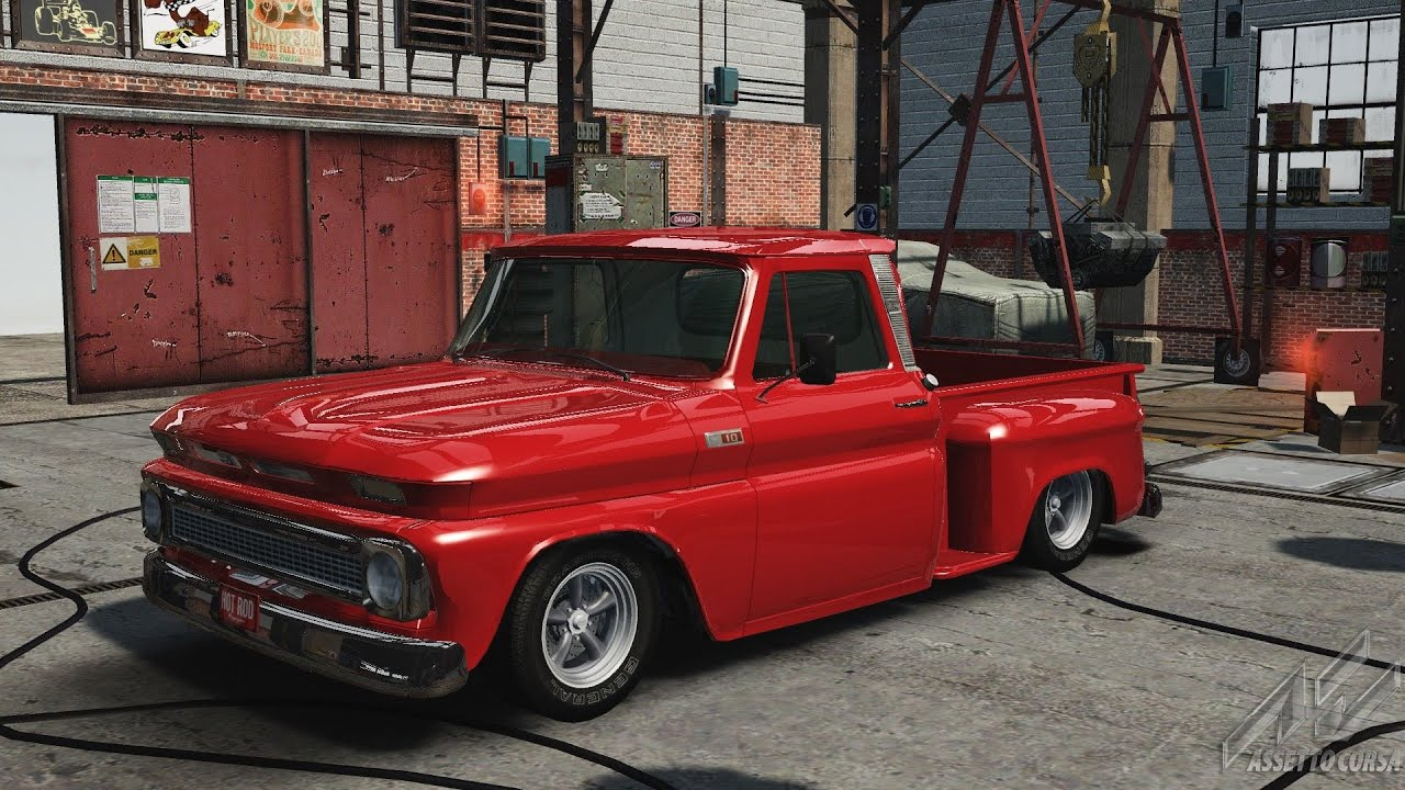 Assetto Corsa 1965 Chevy C10 Pickup Hot Rod Youtube