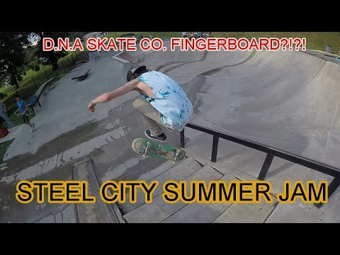 STEEL CITY SUMMER (SKATING IN THE RAIN & D.N.A. SKATE CO. FI