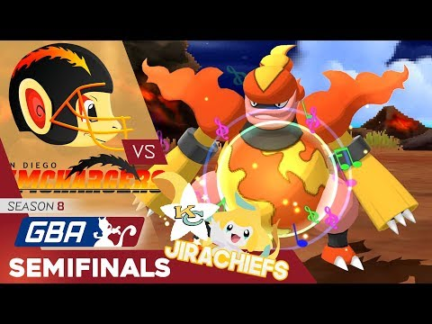 GBA S8 Semifinals Wi-Fi Battle vs. Kansas City Jirachiefs - Magmarized By Jolt's Head Movements