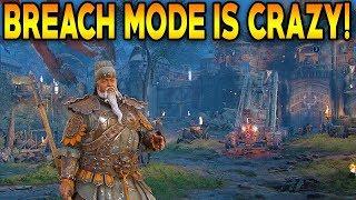 For Honor: BREACH MODE IS INSANE! JIANG JUN BREACH MODE GAMEPLAY!