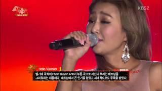 """Người Hàn Quốc hát về Việt Nam """" Hello Vietnam """" cực kỳ hay"""