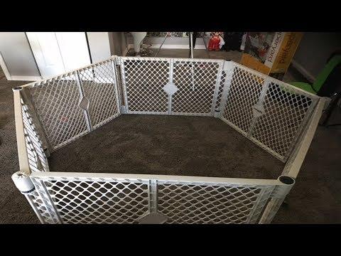 North States Super yard Classic Baby Gate