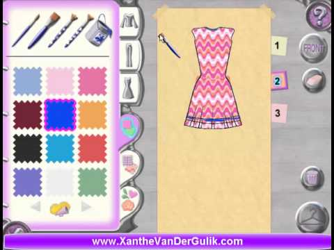Barbie Fashion Show PC Game | Barbie Fashion Show Level 1 | BARBIE FASHION SHOW GAME | Barbie Game
