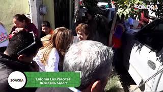 Para quitarnos el frío la Gober mueve el programa #PintemosSonora y entrega #CobijasyCalentones 👍🏽