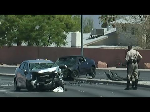 One dead in head-on crash near Alta, Buffalo drives in Las Vegas