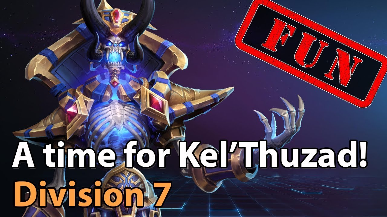 ► Time for Kel'Thuzad! - Division 7 - Heroes of the Storm Amateur Play