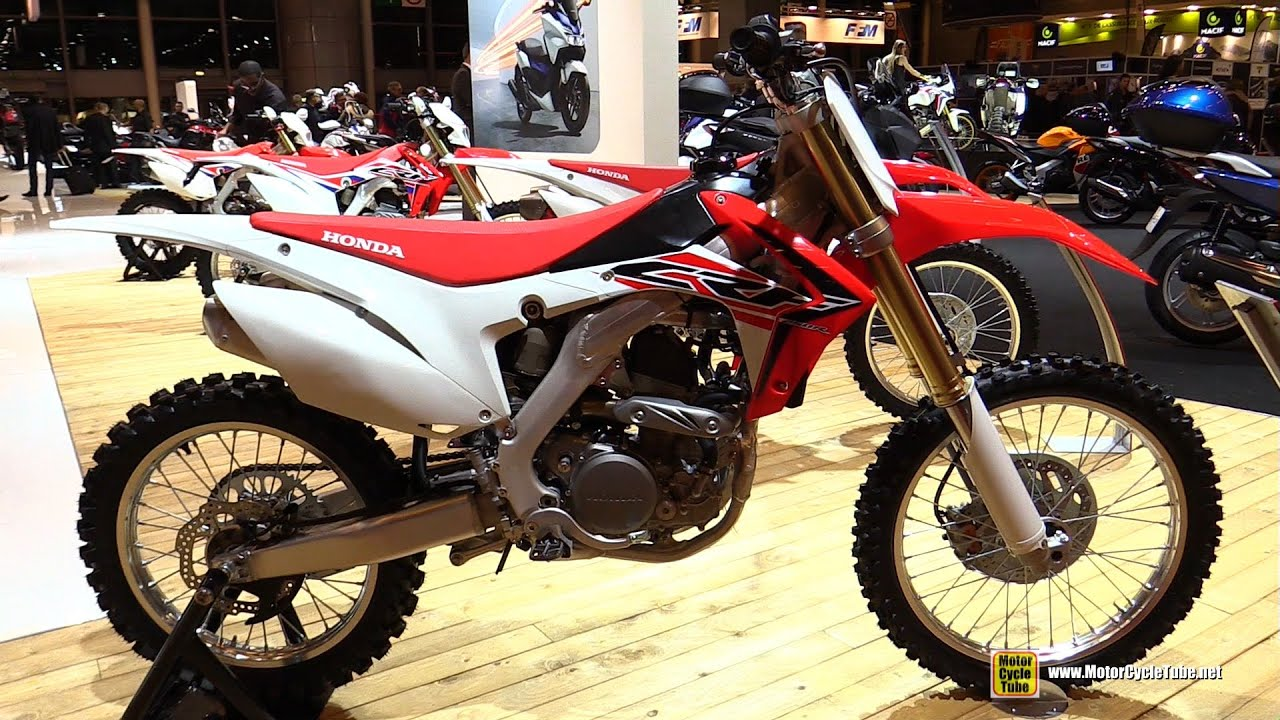 2016 honda crf250 r walkaround 2015 salon moto paris. Black Bedroom Furniture Sets. Home Design Ideas