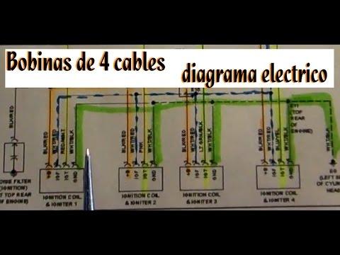 1996 Honda Accord Ex Wiring Diagram Lectura De Diagrama De Encendido Electronico Bobinas