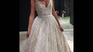 Свадебное платье а-силуэта Олимпия