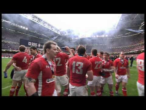 Six Nations Wales v France Final Winners Grand slam 2012