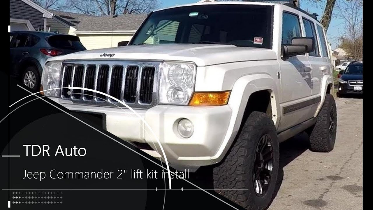 Jeep Commander Lift Kit