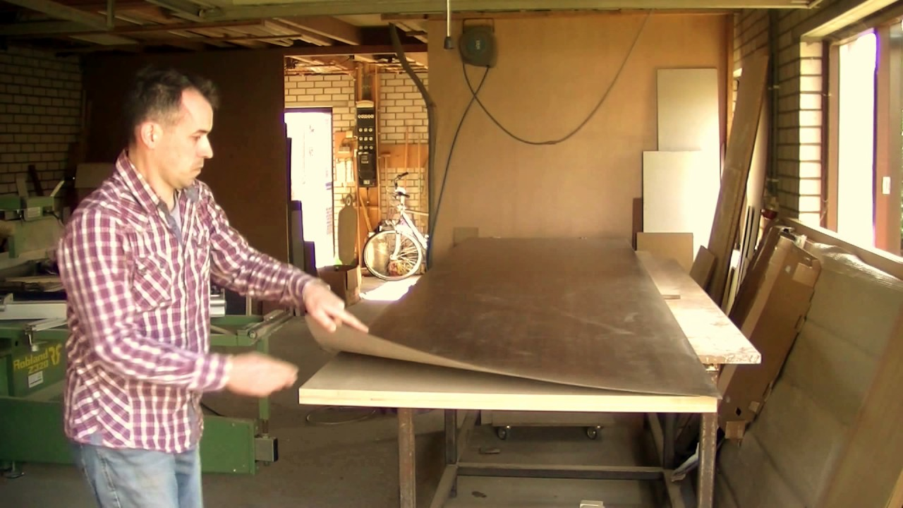 How To Laminate A Table Counter Top Hpl Formica
