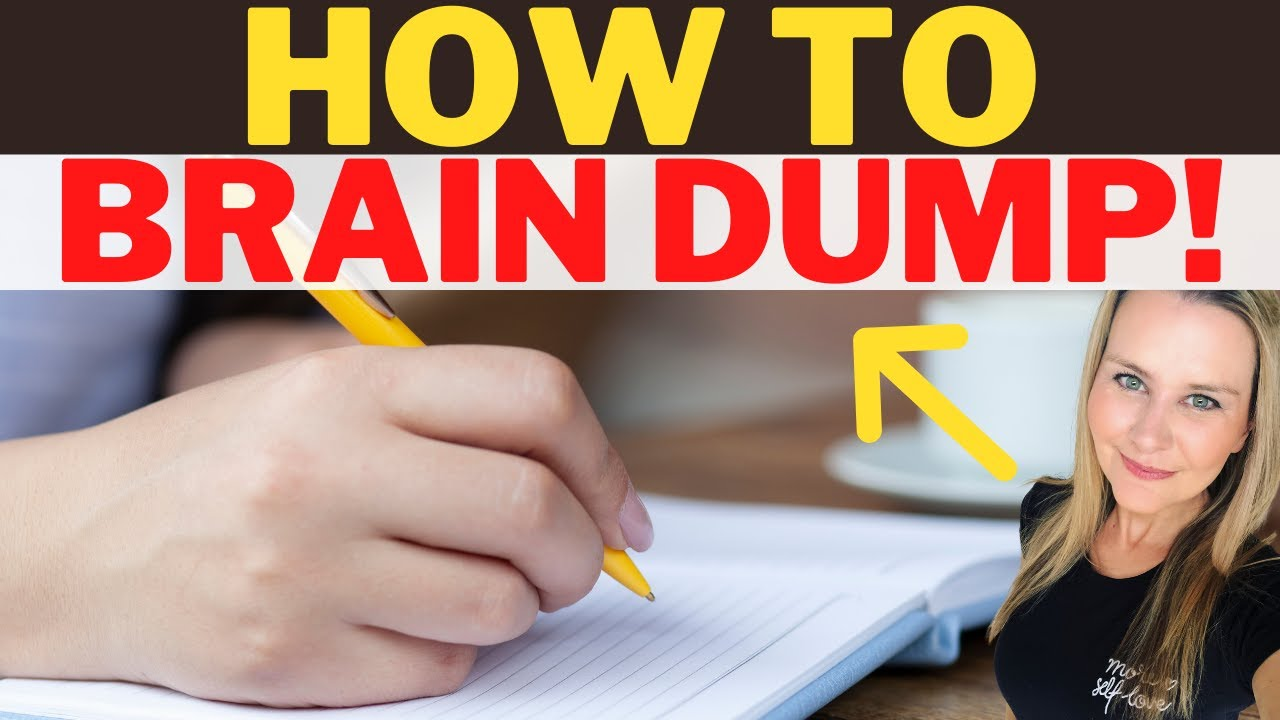 My TOP TIPS for resellers to stay focused and productive | Brain Dumping 101