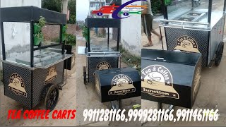 Gambar cover Tea Coffee Junction made Sai Structures India/SSI TEA & COFFEE CARTS MANUFACTURER#DELHI/INDIA#TCART