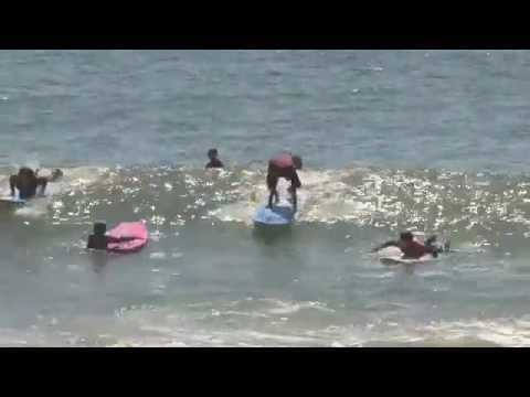 Flying Point Surf School Trailer - 2011