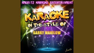 Beyond the Sea (In the Style of Barry Manilow) (Karaoke Version)