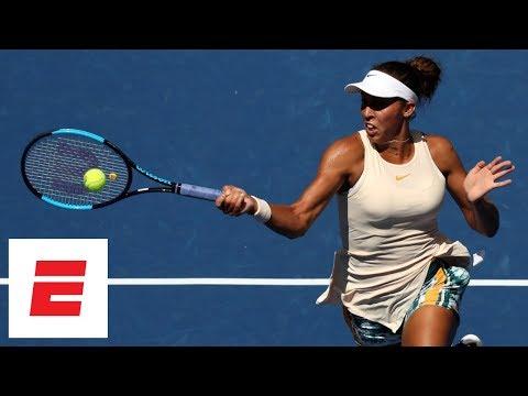2018 US Open highlights: Madison Keys advances to quarts after beating Dominika Cibulková | ESPN