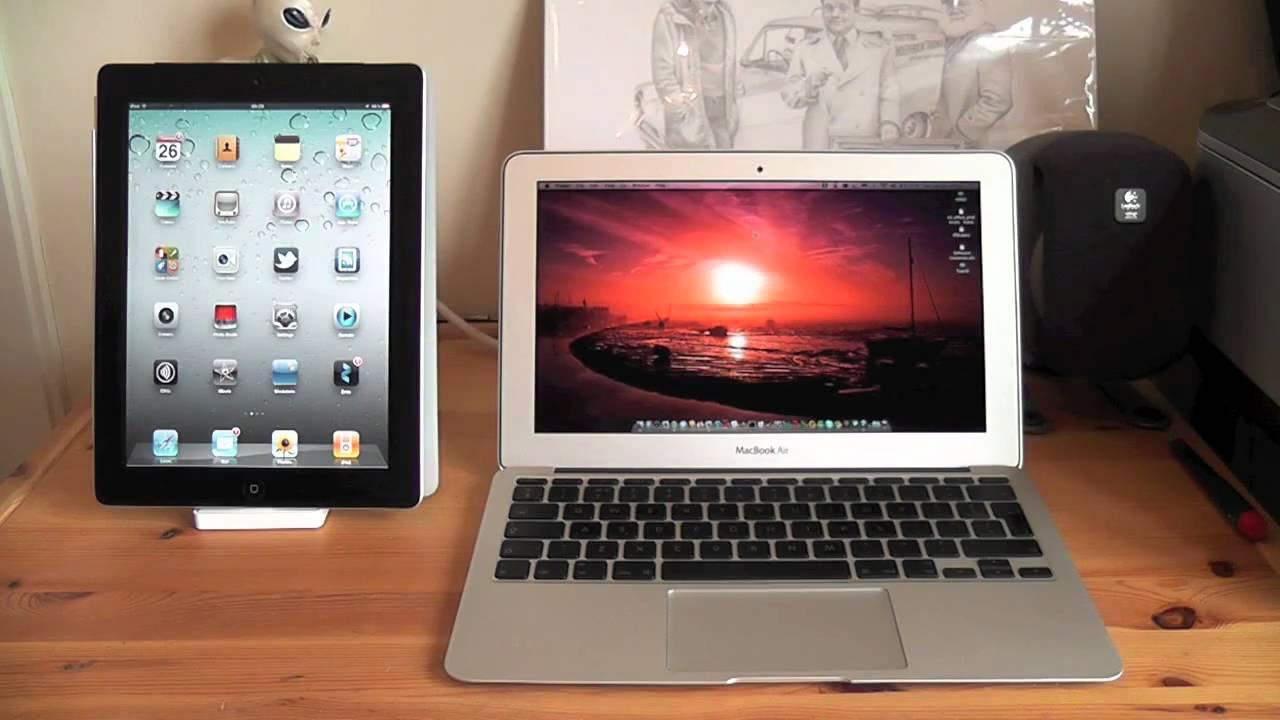 IPad vs. MacBook air?